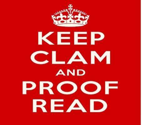 proofreaders